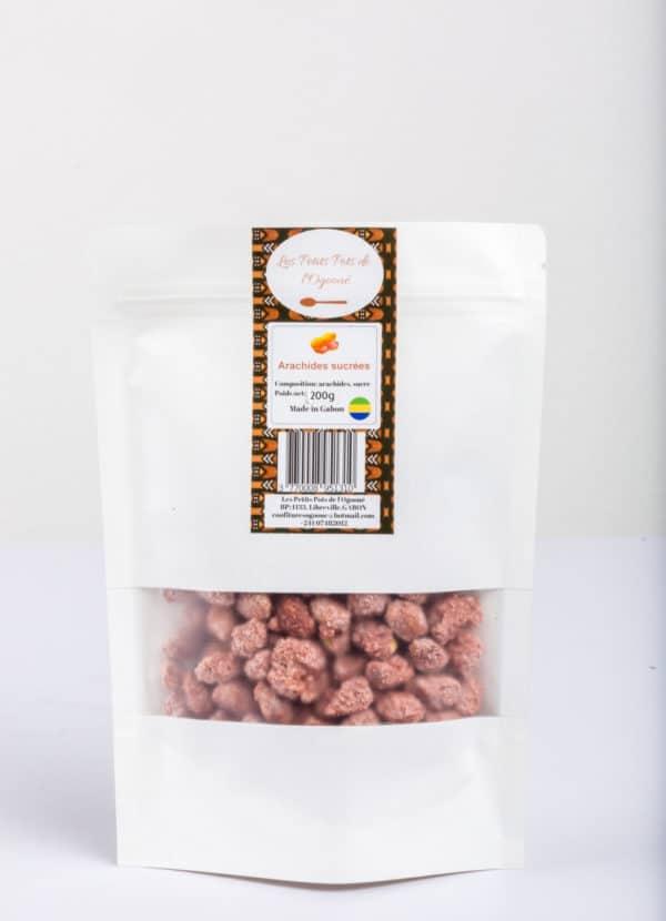 Arachides sucrées-les petits pot de l'Ogooué